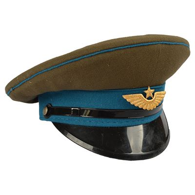 The Officers peaked cap RUSSIAN BLUE