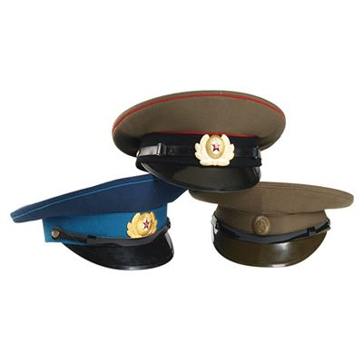 Russian blue peaked cap