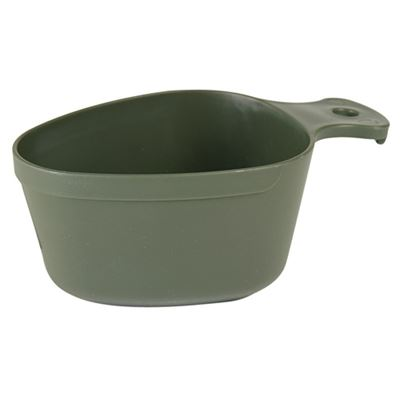 SWEDISH plastic cup OLIVE