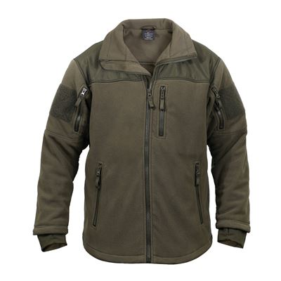 Fleece jacket SPEC OPS OLIVE DRAB