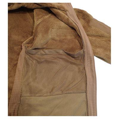 Fleece jacket GEN III / LEVEL 3 ECWCS COYOTE