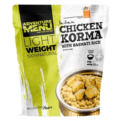 Chicken KORMA with basmati rice - vacuum dried meal