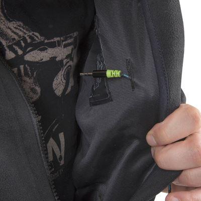 CLASSIC ARMY fleece jacket BLACK