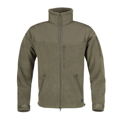 Fleece jacket CLASSIC ARMY OLIVE
