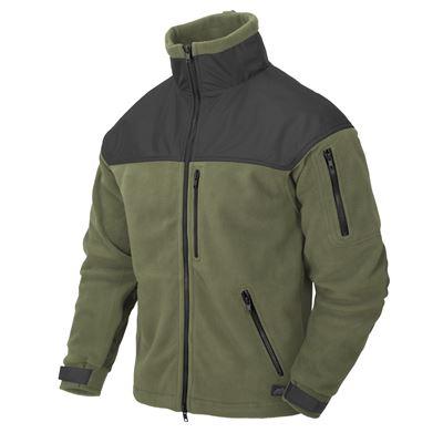 CLASSIC ARMY fleece jacket OLIVE GREEN/BLACK