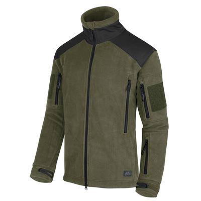 Liberty Heavy Fleece Jacket OLIVE / BLACK