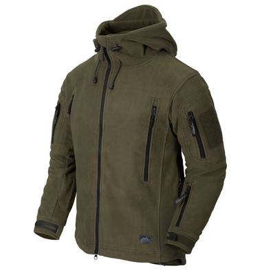 Patriot Heavy Fleece Jacket OLIVE