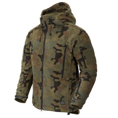 Heavy fleece jacket PATRIOT PL WOODLAND