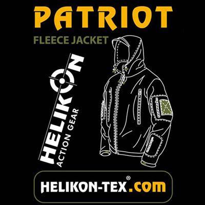 Heavy fleece jacket PATRIOT COYOTE