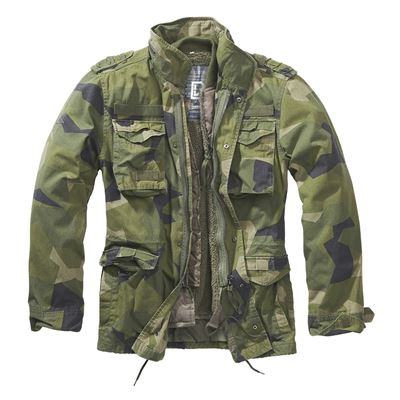 Jacket M65 GIANT SWEDISH CAMO M90