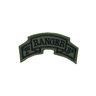 Patch arch 1st Ranger Battalion - OLIVE