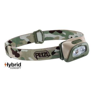 Flashlight Headlamp TACTIKKA+ RGB 2019 CAMO