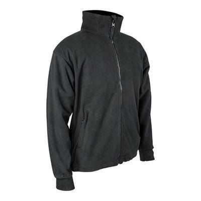 Jacket THOR windproof waterproof fleece BLACK