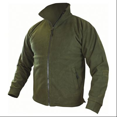 Jacket THOR windproof waterproof fleece OLIV
