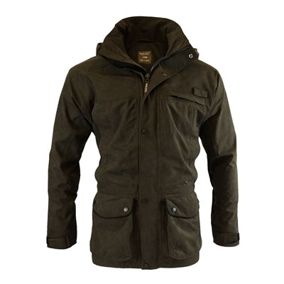 Jacket ASHCOMBE with membrane BROWN