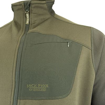 Jacket ASHCOMBE TECHNICAL FLEECE GREEN