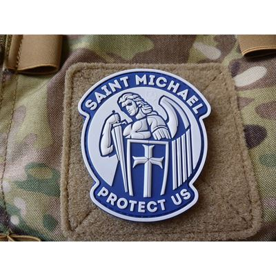 Patch SANKT MICHAEL velcro BLUE