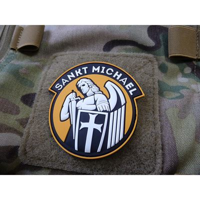 Patch SANKT MICHAEL velcro YELLOW