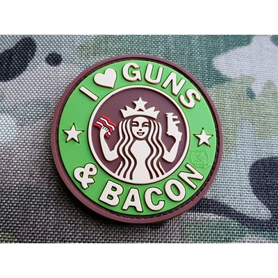 Patch GUNS AND BACON velcro MULTICAM ®