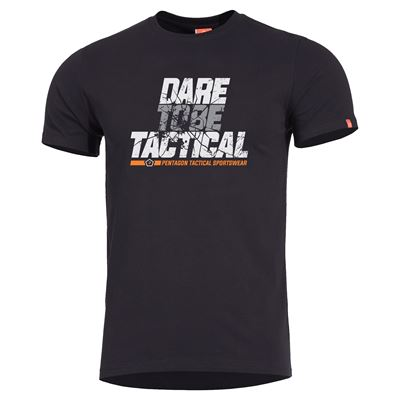 T-shirt DARE TO BE TACTICAL BLACK