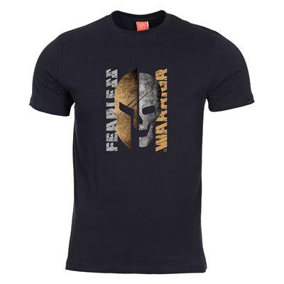 T-shirt FEARLESS WARRIOR BLACK