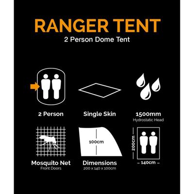 Ranger Tent for 2 Person OLIV
