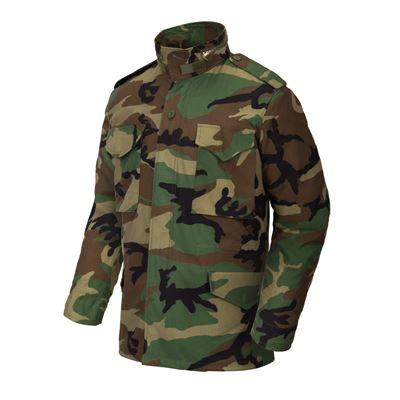 U.S. M65 jacket with liner WOODLAND