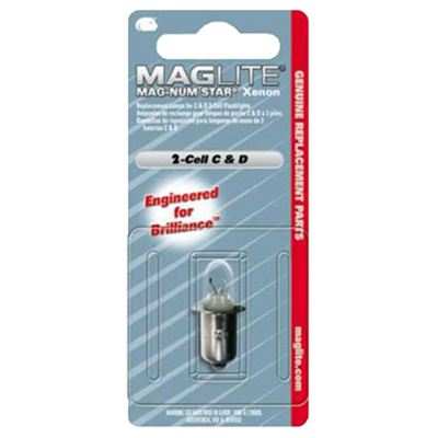 XENON bulb replacement MAGLITE 4 C, D-CELL