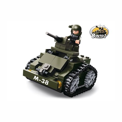 Toy ARMORED CAR 8in1