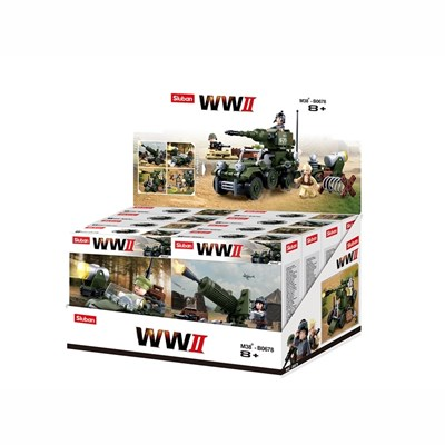 Toy ARMY DISPLAY BOX