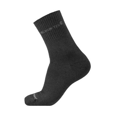 ALL ROUND SOCKS 3 PACK BLACK