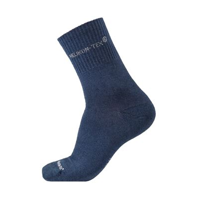 ALL ROUND SOCKS 3 PACK NAVY BLUE