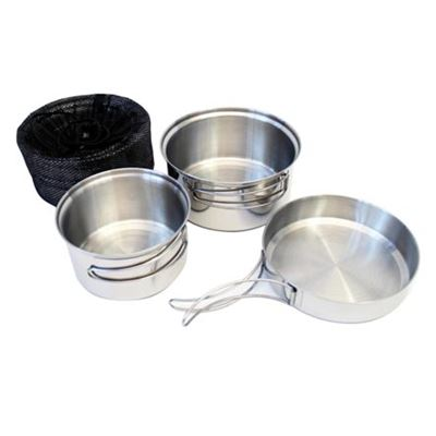 Tableware three-piece stainless TRAPPER