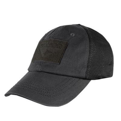 Hat OPERATOR MESH panels with VELCRO BLACK