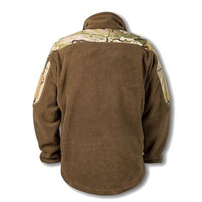 RAVEN fleece jacket with shoulders MULTICAM
