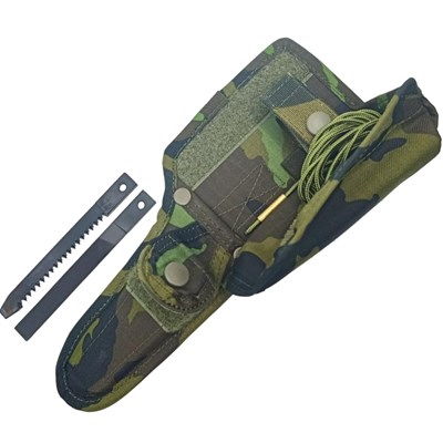 UTON 362-4 CAMOUFLAGE/K MNS sheath including accessories